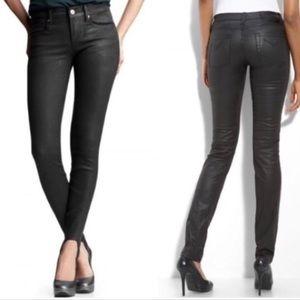 BCBGMAXAZRIA May Skinny Wax Jeans